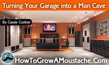 Small Garage Into Man Cave : How to turn your garage into a man cave large and beautiful