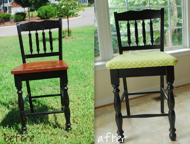 how to upholster a dining chair photo - 2