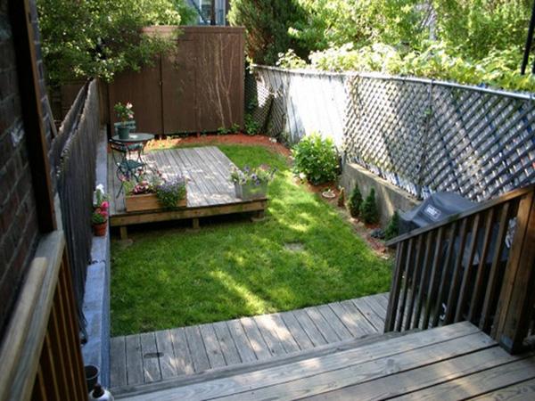 ideas for a small backyard photo - 2