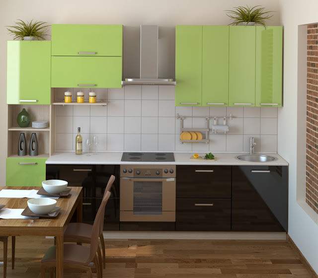 ideas for a small kitchen photo - 2