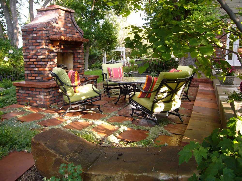 ideas for backyard patios photo - 2
