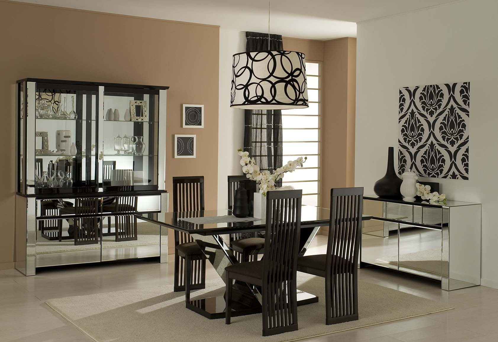 ideas for decorating a dining room photo - 2