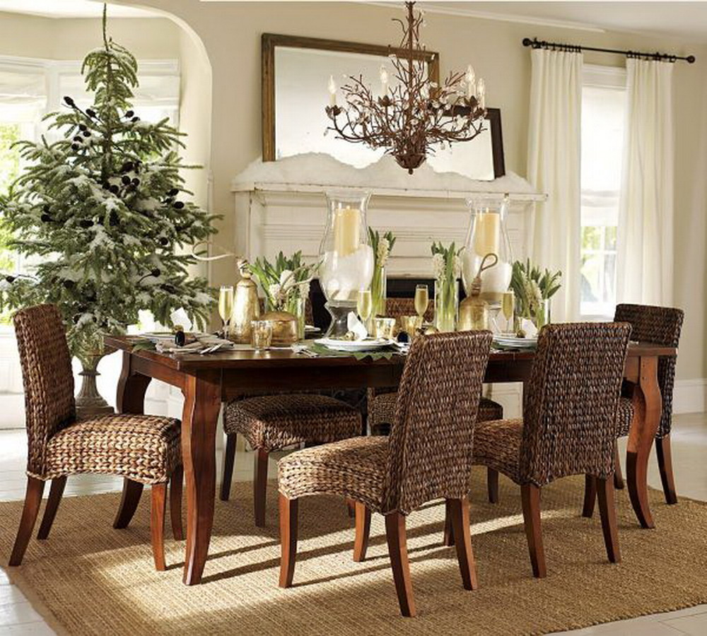 ideas for decorating dining room table photo - 1