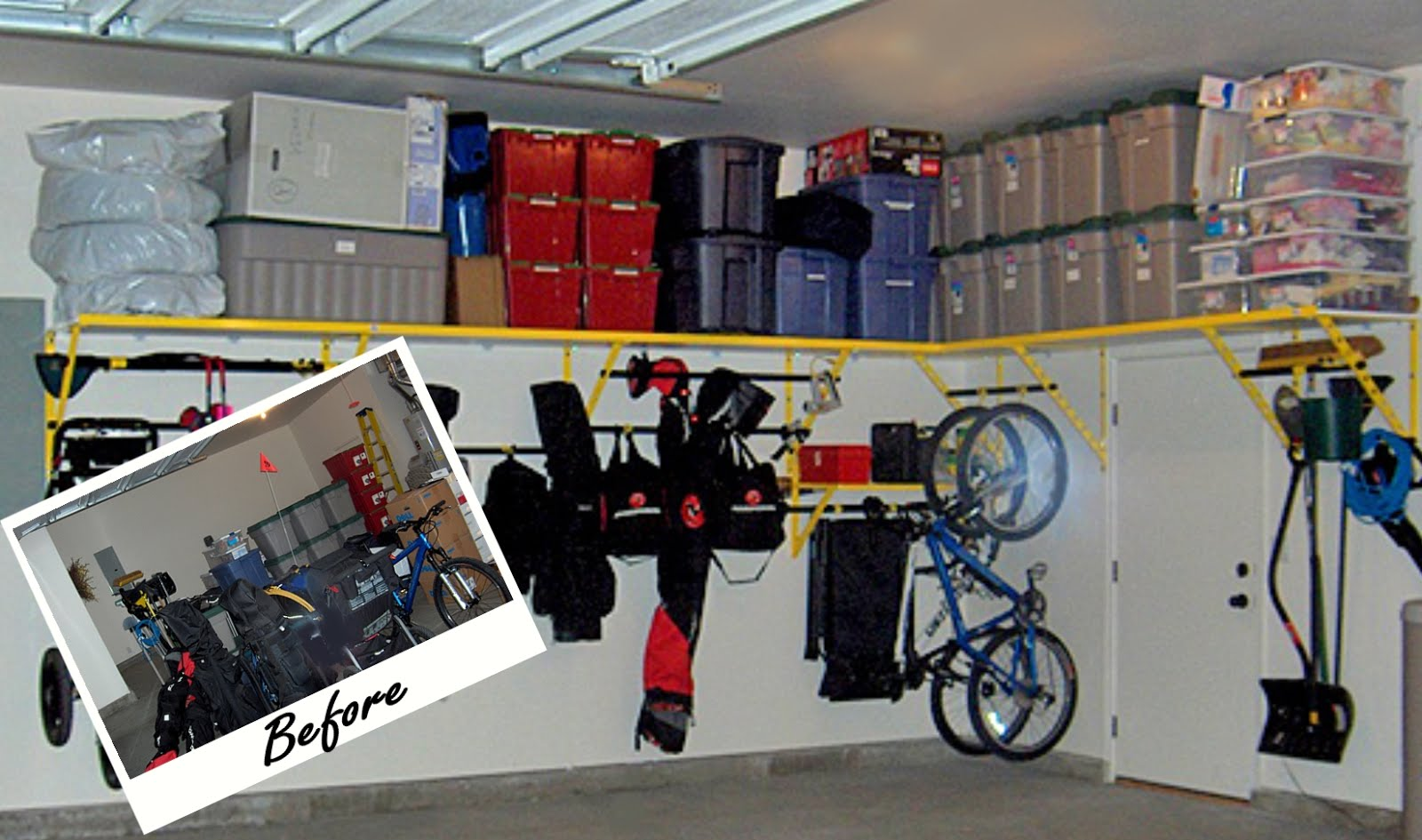 ideas for garage organization photo - 2