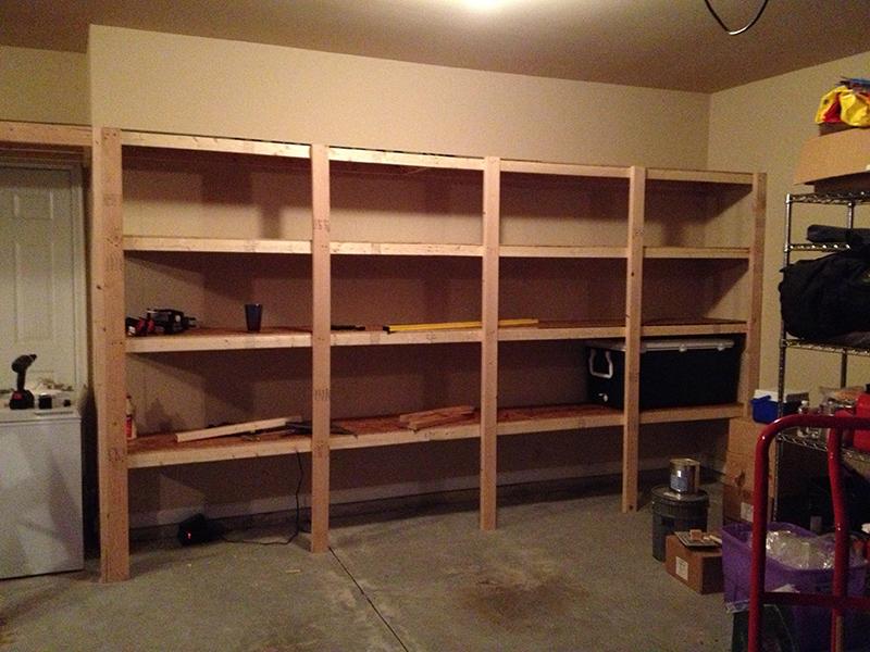 ideas for garage shelves photo - 2