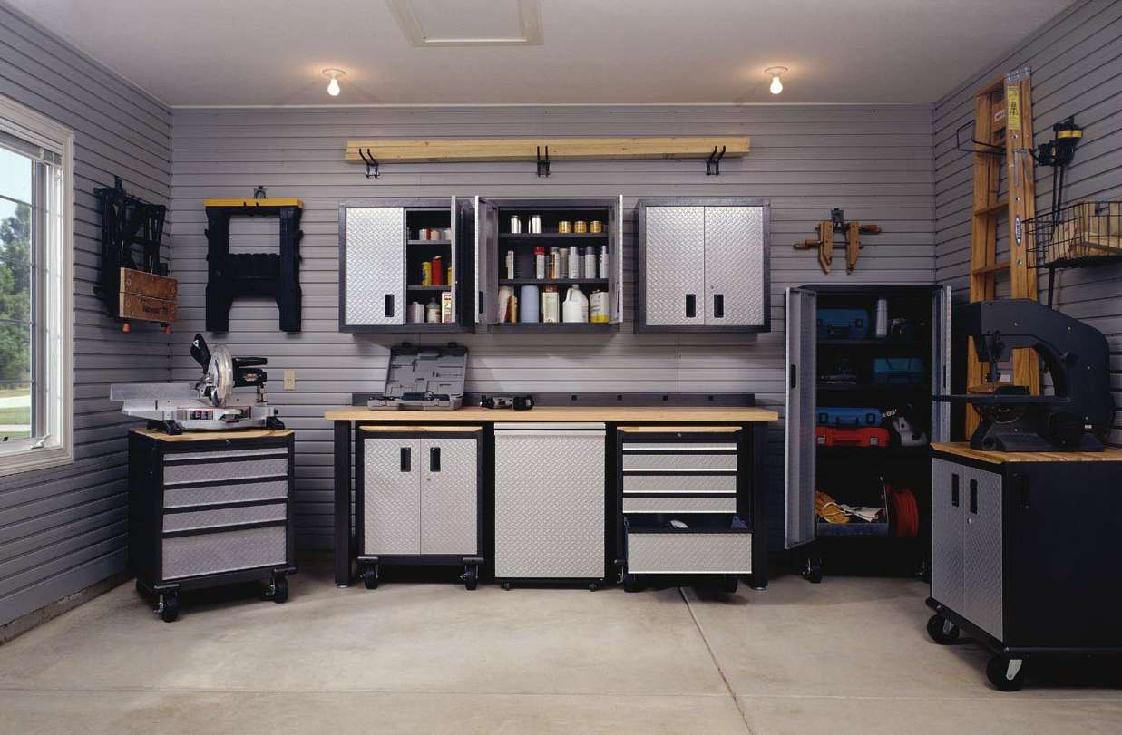 ideas for garage storage photo - 2