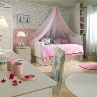ideas for little girl bedrooms - large and beautiful photos. photo
