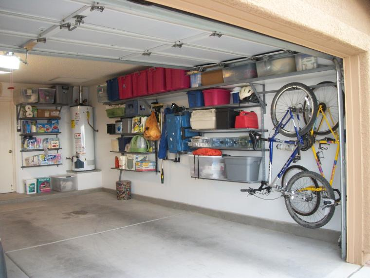 ideas for organizing garage photo - 2