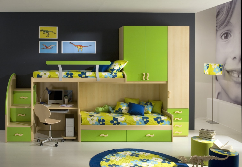 Ideas for small kids bedrooms - large and beautiful photos. Photo to ...