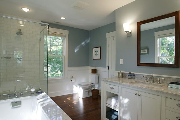 Bathroom Makeovers Inexpensive inexpensive bathroom makeover - large and beautiful photos. photo