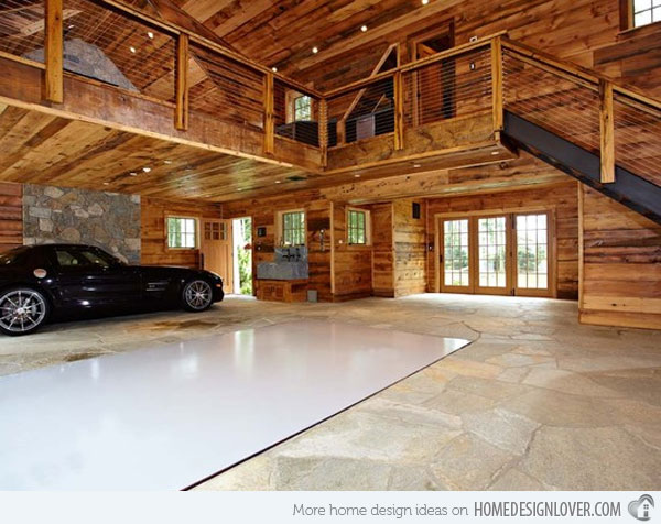 Inside garage ideas large and beautiful photos photo to for Interieur garage