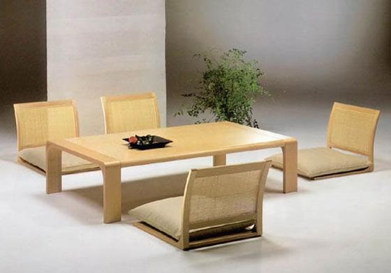 japanese dining furniture photo - 2