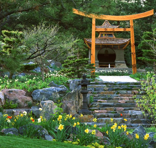 japanese garden backyard