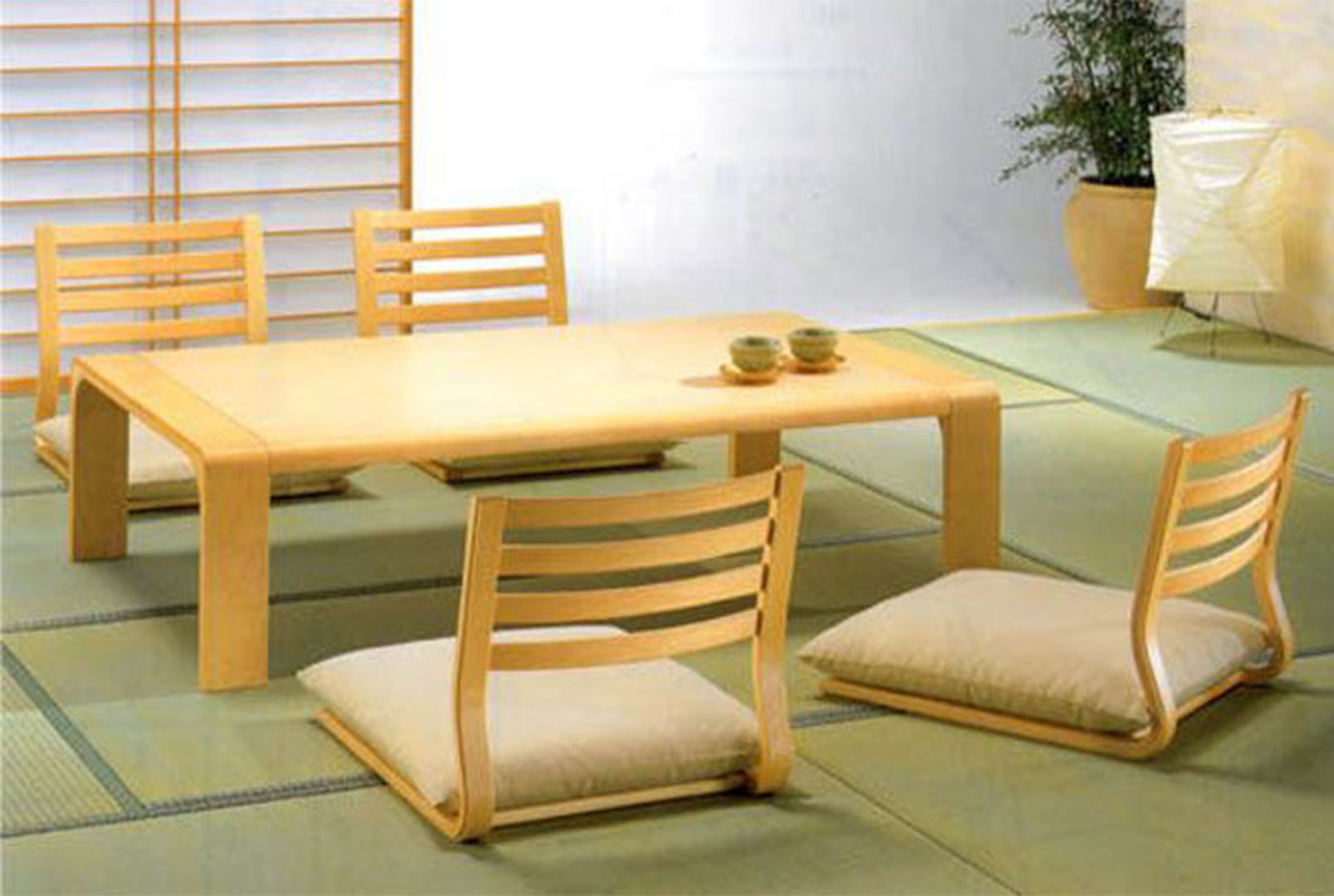japanese style dining photo - 2