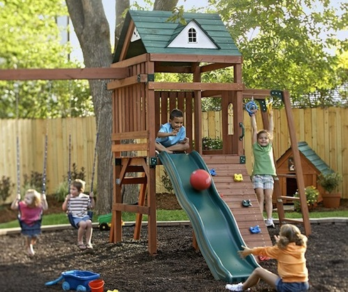 kid backyard ideas photo - 1