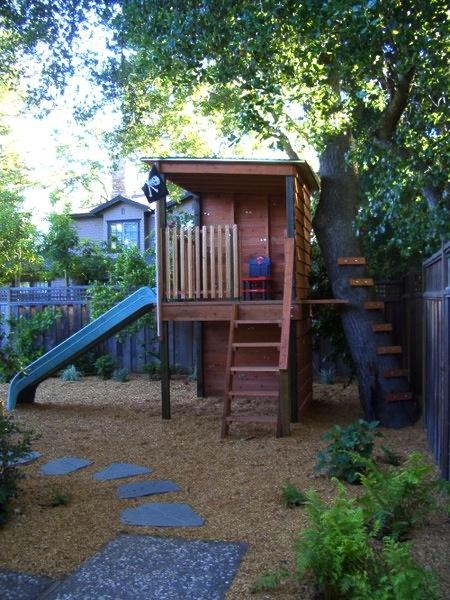 kids backyard forts photo - 2