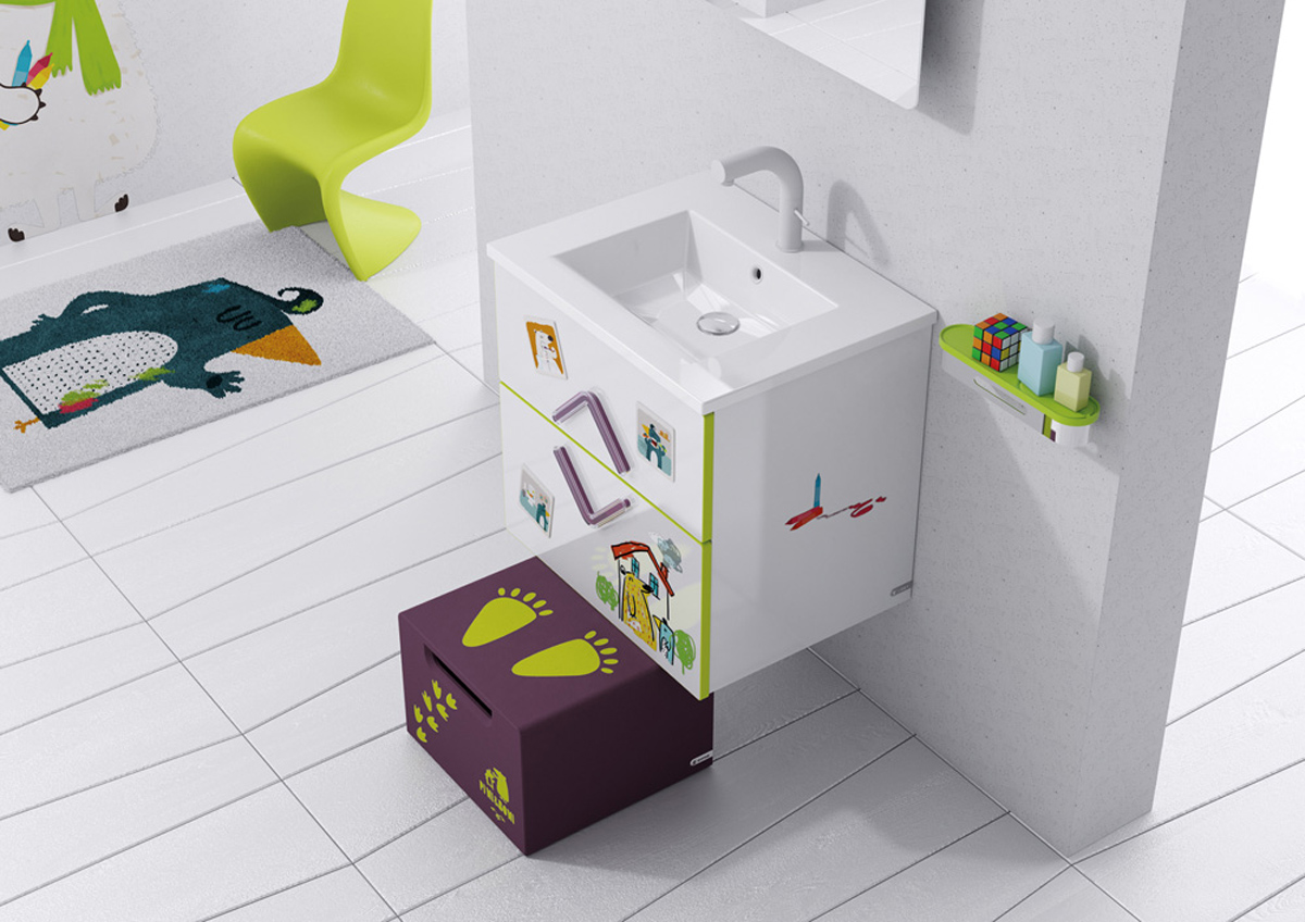 kids bathroom design photo - 1