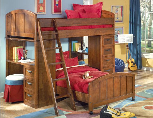 kids bedroom bunk beds photo - 1