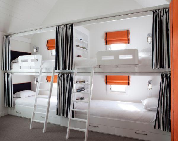 kids bedroom bunk beds photo - 2