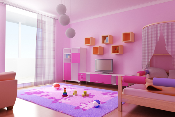 kids bedroom decorating photo - 2