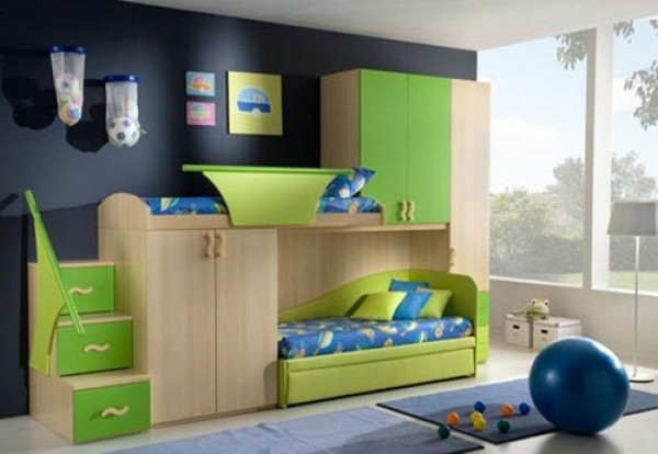 kids bedroom gallery photo - 2