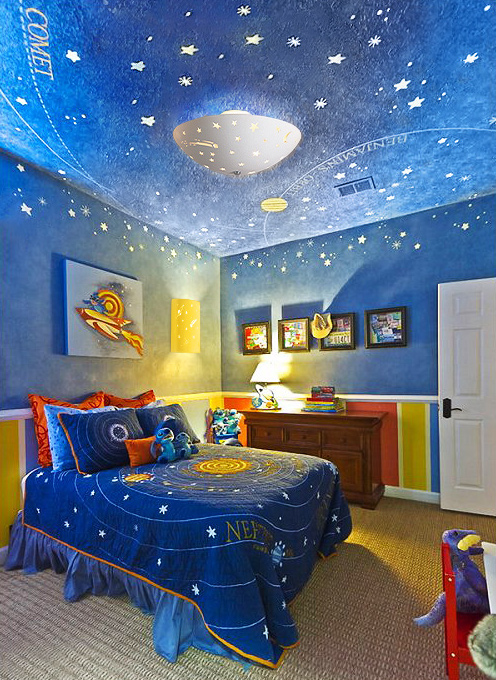 kids bedroom lights photo - 2