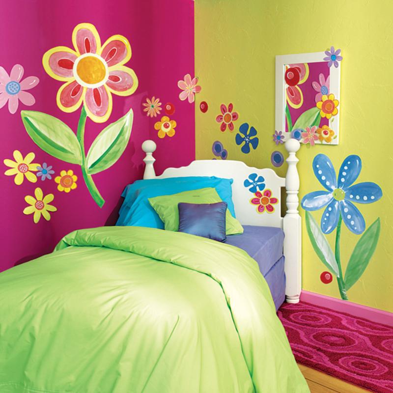 kids bedroom murals photo - 2