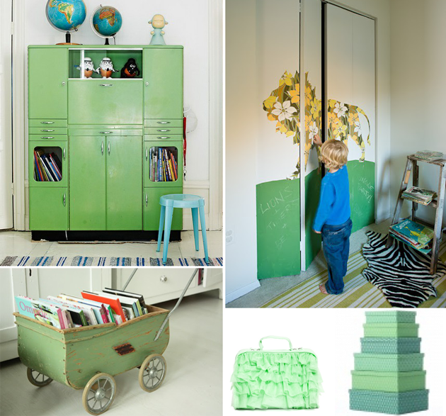 Kids Bedroom Storage Ideas