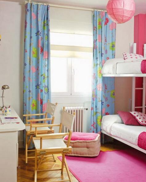 kids bedroom window treatments photo - 1