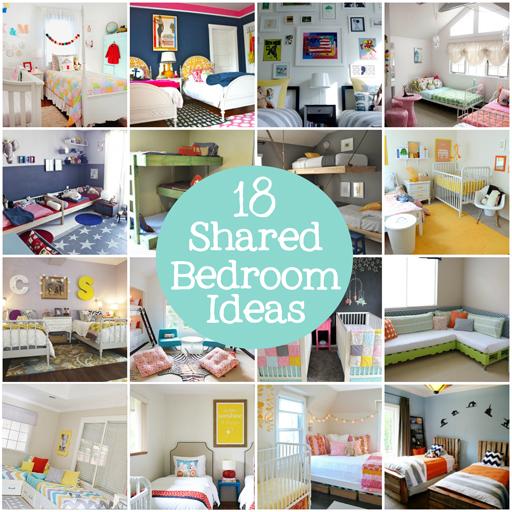 Kids shared bedroom ideas