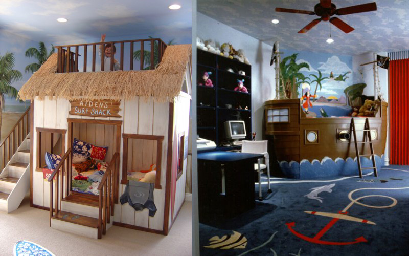 kids themed bedrooms photo - 1