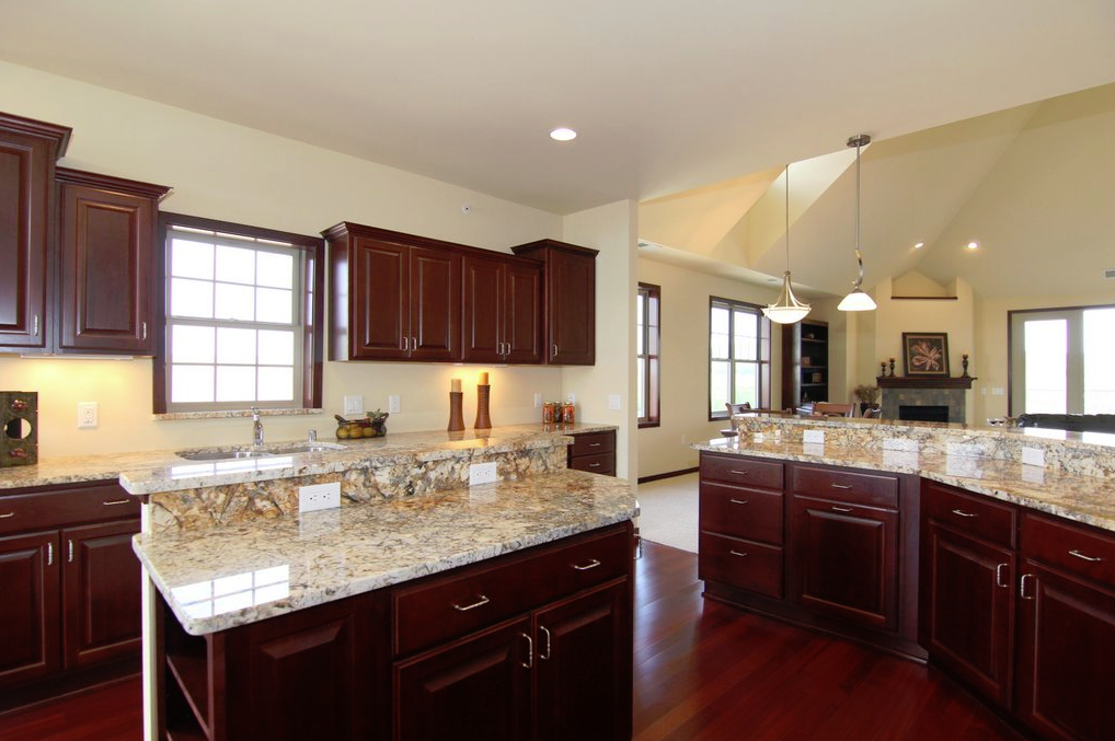 kitchen and dining room photo - 2