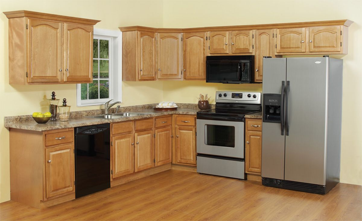 kitchen cabinets for small kitchen photo - 2