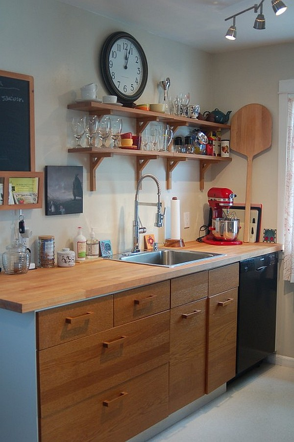 kitchen cabinets for small spaces photo - 2