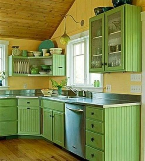 kitchen colors for small kitchen - large and beautiful photos