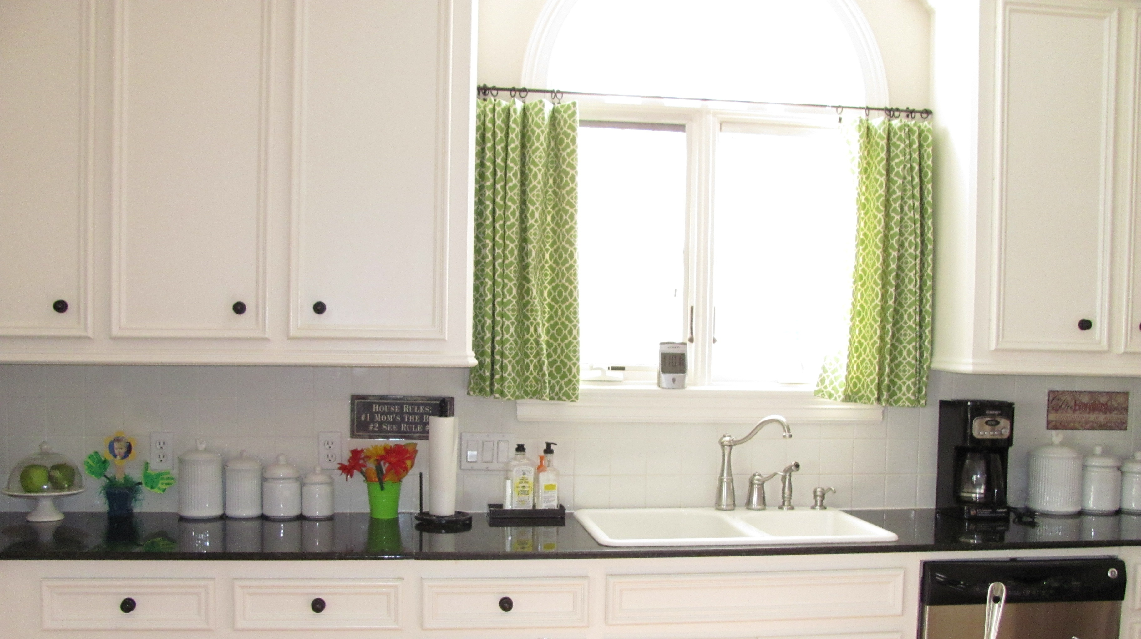 kitchen curtain ideas small windows photo - 1