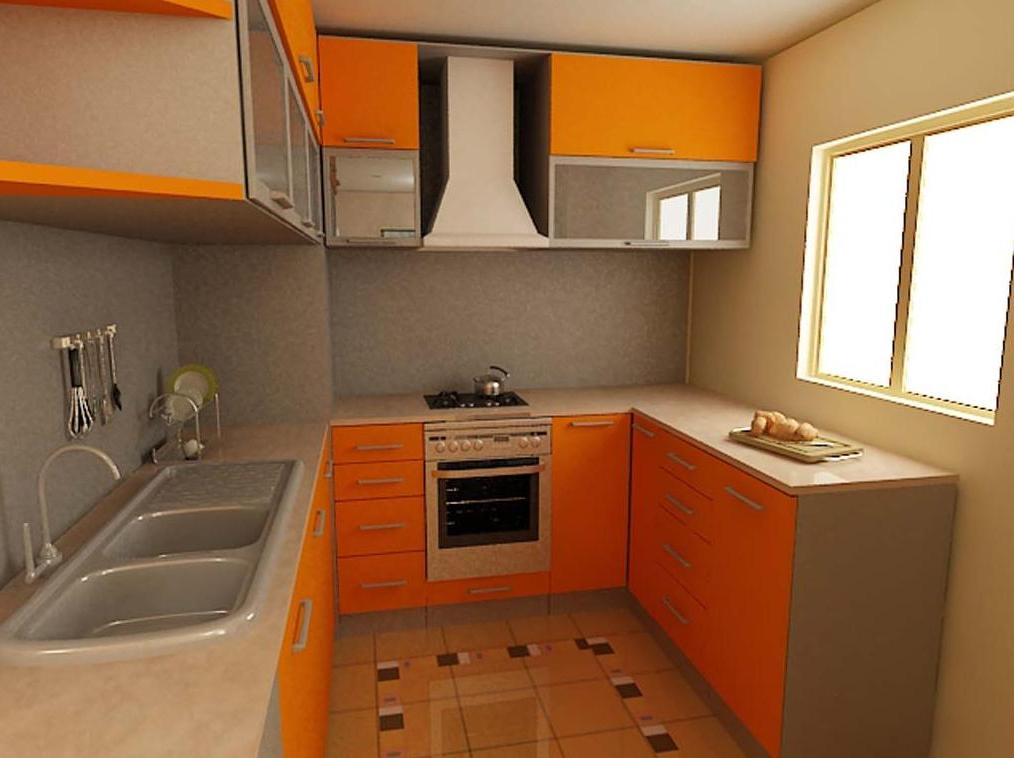 kitchen design for small space photo - 2