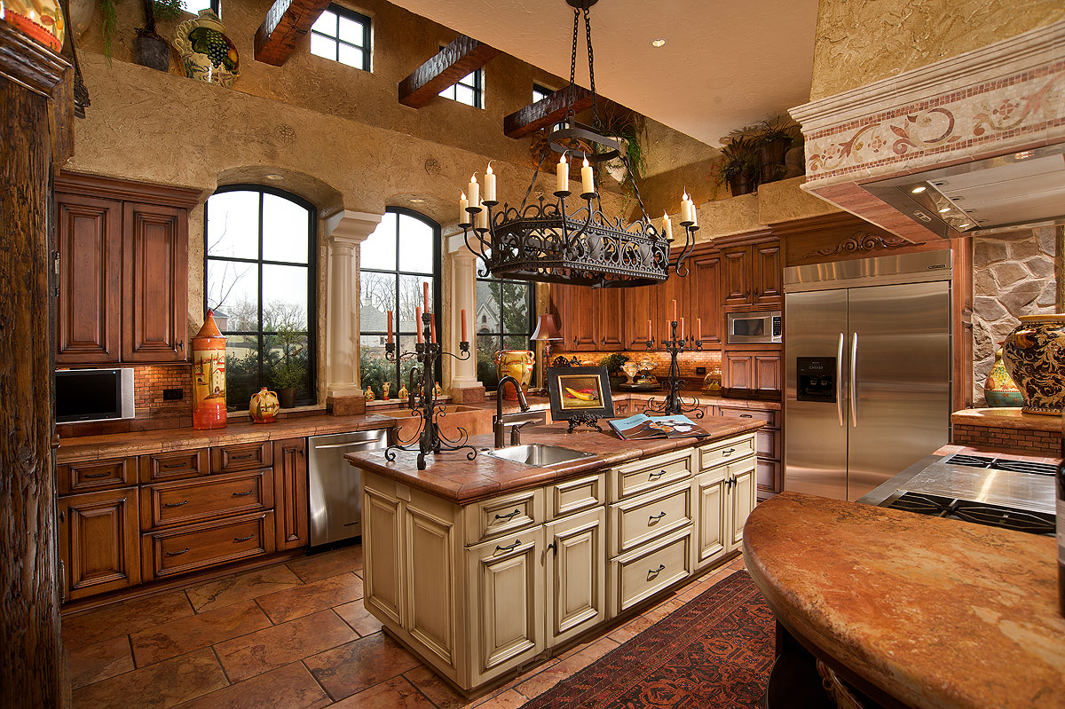 kitchen designs with islands for small kitchens photo - 2