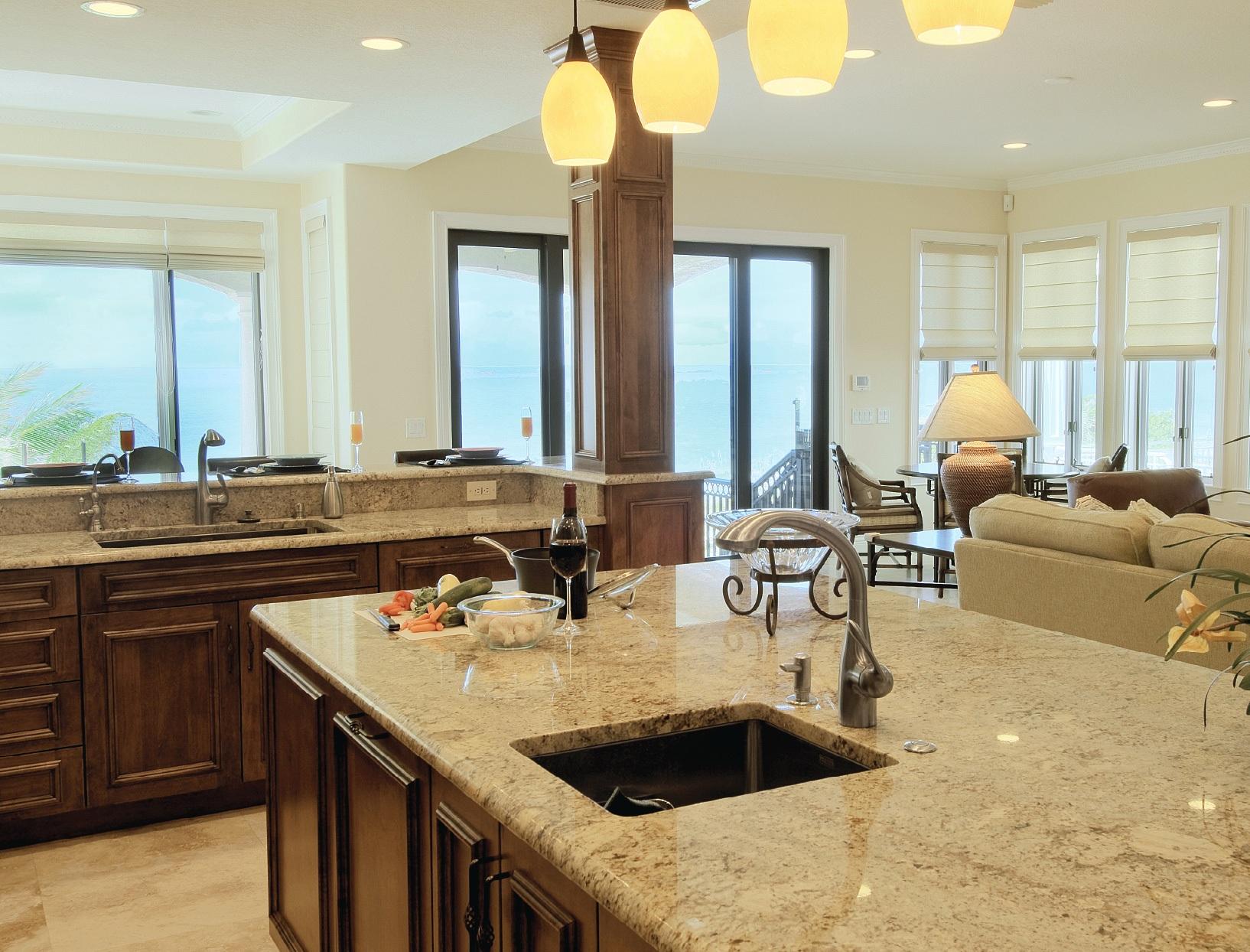 kitchen dining island photo - 2