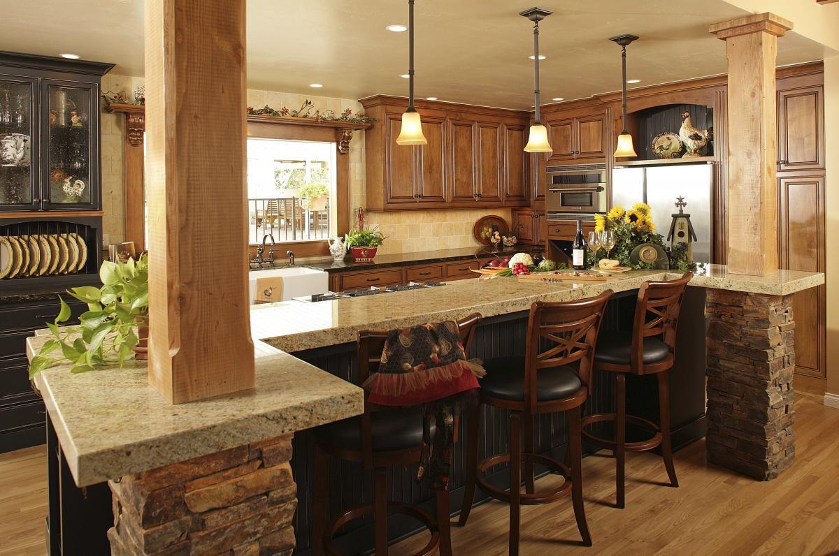 kitchen hutches for small kitchens photo - 2