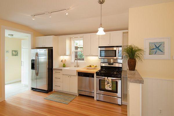 kitchen ideas for small apartments photo - 1