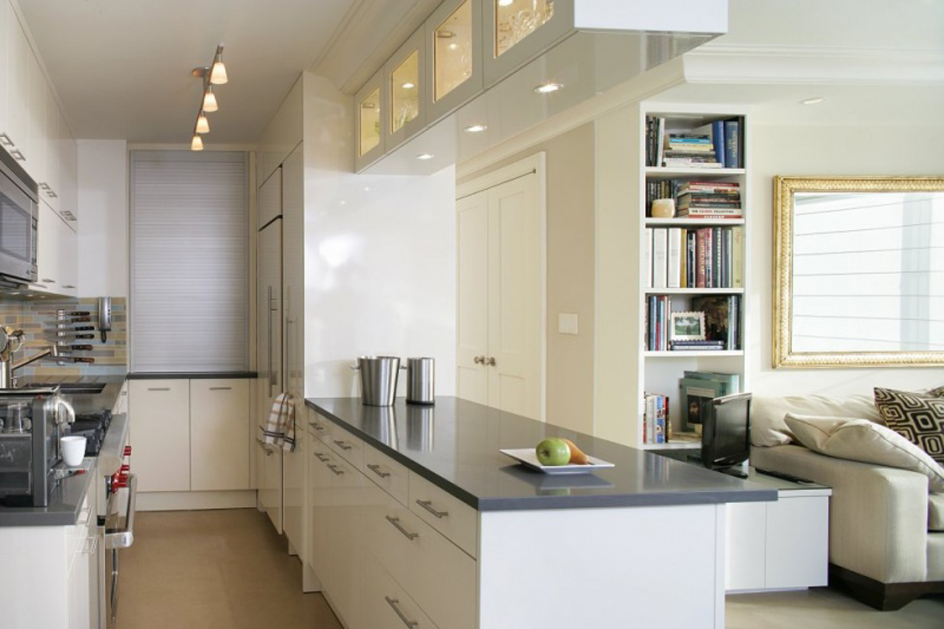 kitchen ideas for small kitchens on a budget photo - 1
