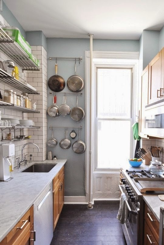 kitchen ideas for small space photo - 1