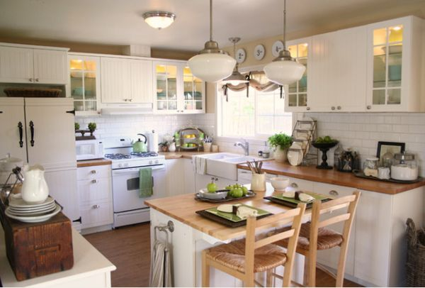 kitchen island designs for small kitchens photo - 2