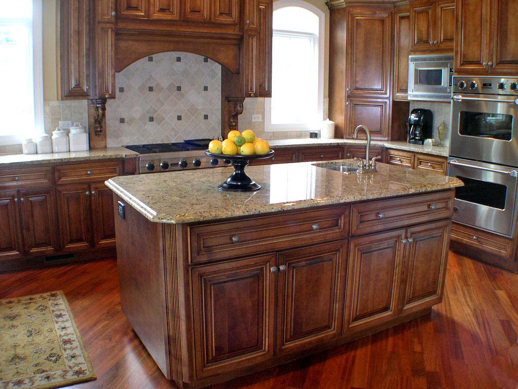 kitchen island dining photo - 1