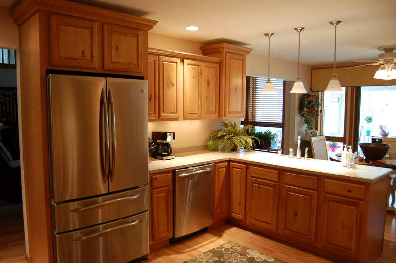 kitchen remodeling ideas on a small budget photo - 2