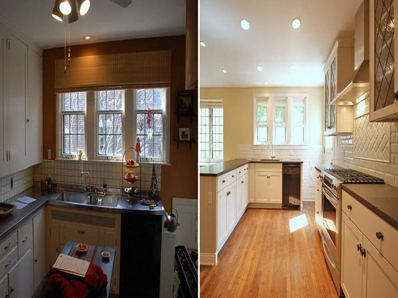 kitchen remodels for small kitchens photo 1 - Small Kitchen Remodel Before And After