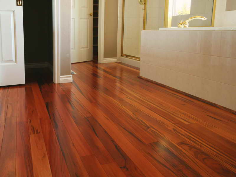 can you put laminate flooring in bathroom - basement parking