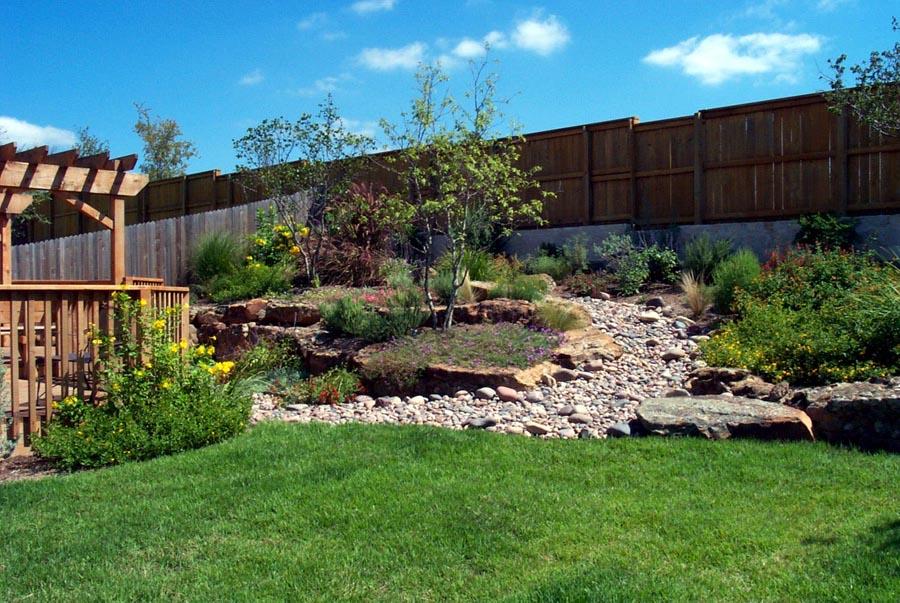 Delicieux Landscape Design For Sloped Backyard Photo   2