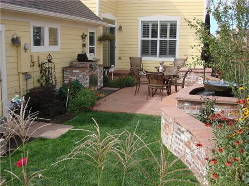 landscape design small backyard photo - 2